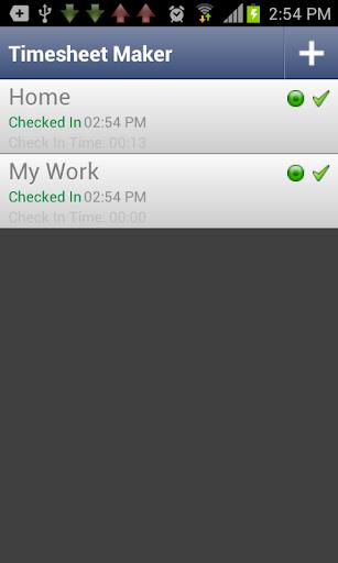 WiFi Timesheet Maker