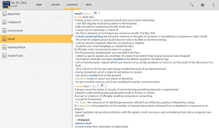 Oxford Dictionary of English T 4.3.136 screenshot 75226