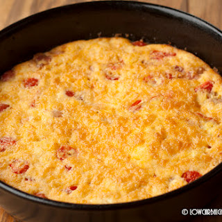 Three Cheese Bacon Tomato Frittata