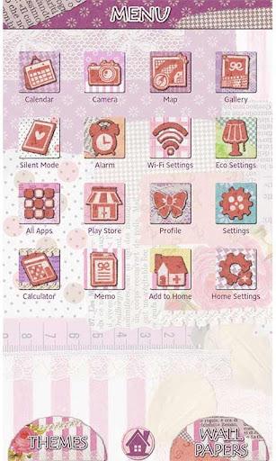 Girly Theme Sweet Pink Collage 1.0.0 Windows u7528 2