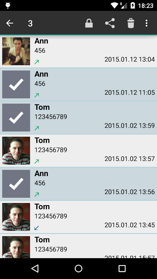 Call Recorder Pro - screenshot