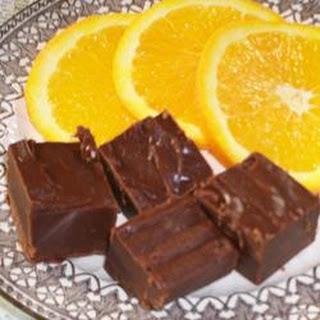 Orange Flavored Fudge