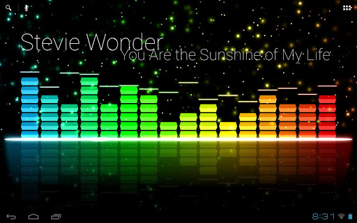 Audio Glow Live Wallpaper  screenshots 9