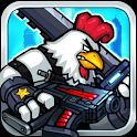Chicken Warrior:Zombie Hunter icon