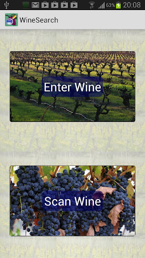 Wine Search Shopping App