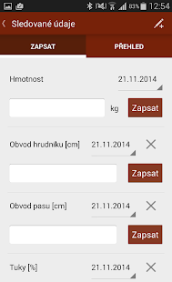 Kalorické tabulky - screenshot thumbnail