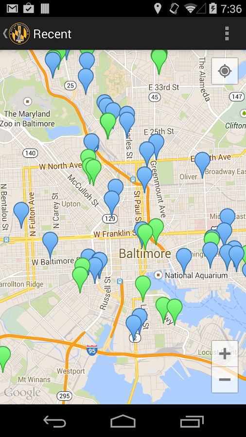 Baltimore 311- screenshot