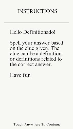 【免費拼字App】Definitionado-APP點子