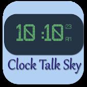 Clock Talk Sky