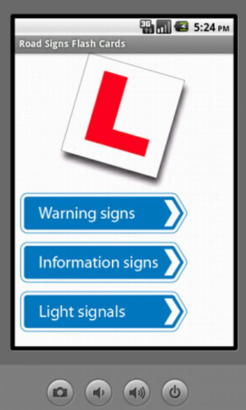 UK Driving Test Flash Cards - screenshot