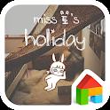 miss holiday dodol theme icon