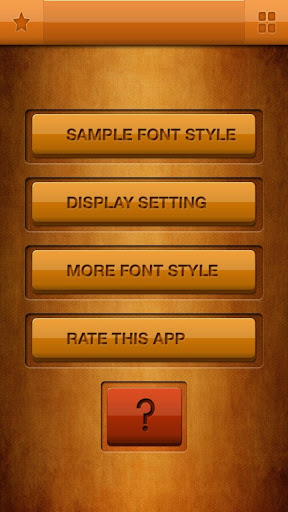 Tall Fonts Free for Android
