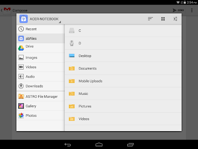 abFiles (Acer Remote Files) v1.02.3001