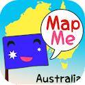 MapMe Australia logo