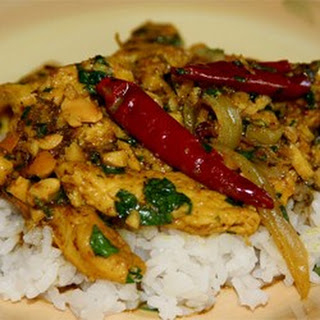 Chicken with Cashews Recipe
