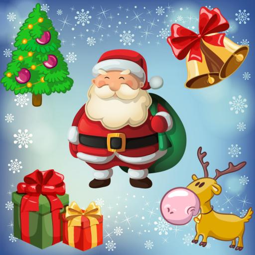 幼児のためのクリスマスのパズル ! 教育 LOGO-玩APPs