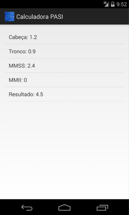 calculadora pasi android apps on google play