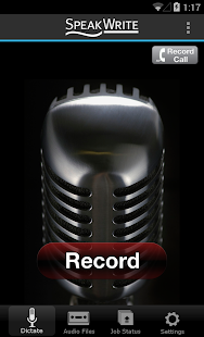 SpeakWrite Recorder- screenshot thumbnail