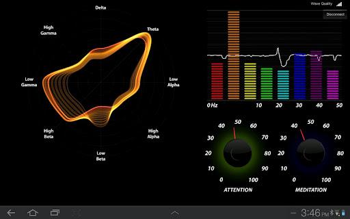 Brainwave Visualizer  screenshots 1