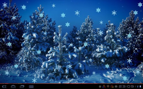 Christmas Flakes HD- screenshot thumbnail