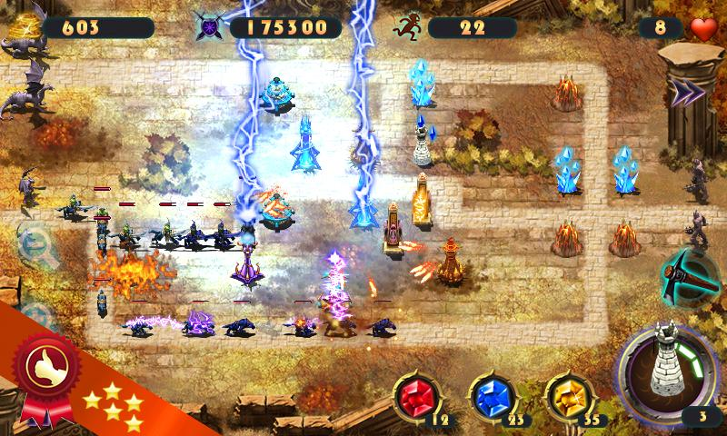 Epic Defense – the Elements- screenshot