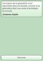 Screenshot of Citations Mathématiques