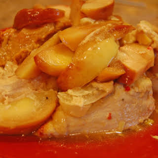 Maple Apple Chicken in the Slow Cooker.