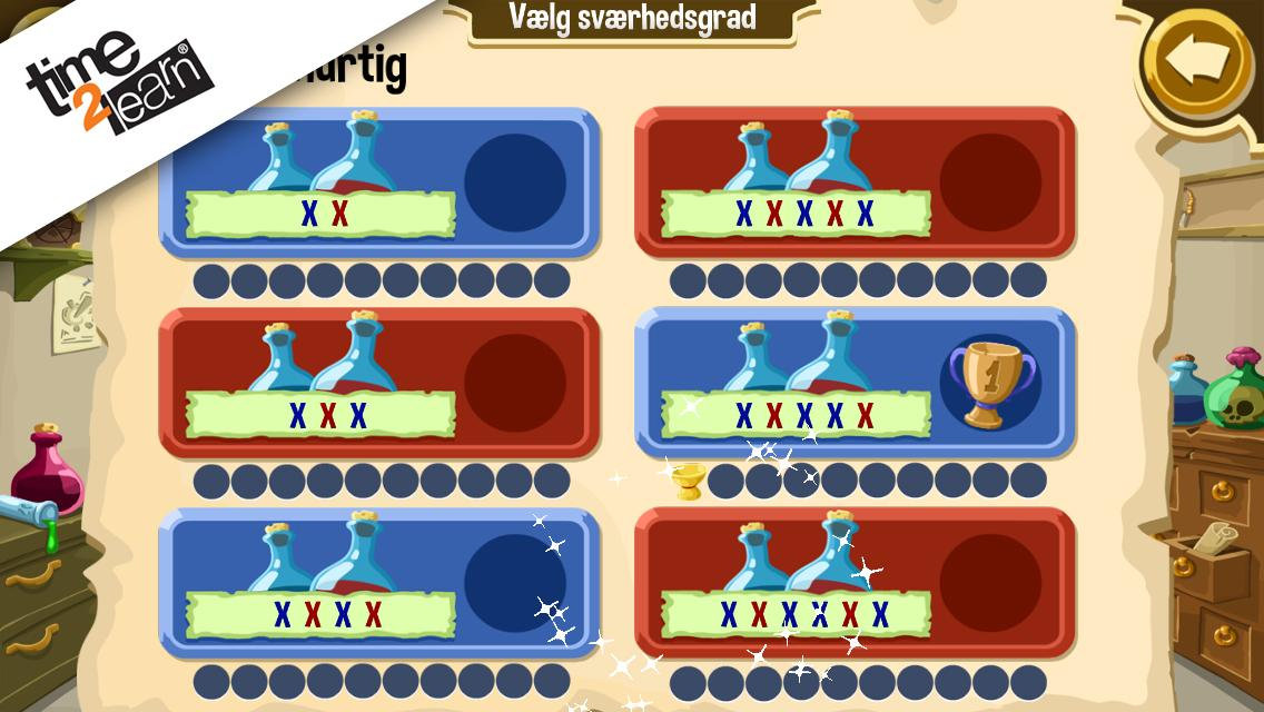 Læseguld – screenshot