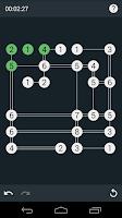 Screenshot of Build Bridges Puzzle