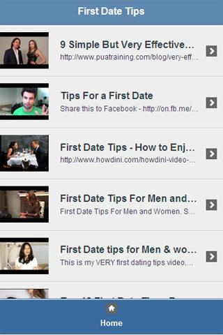 First Date Tips Video