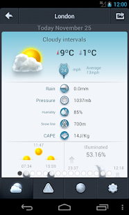 Weather 14 days - screenshot thumbnail