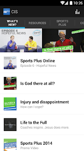 Christians in Sport - screenshot thumbnail