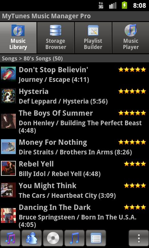 MyTunes Music Player Pro - screenshot