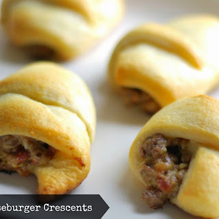 Bacon Cheeseburger Crescent Rolls