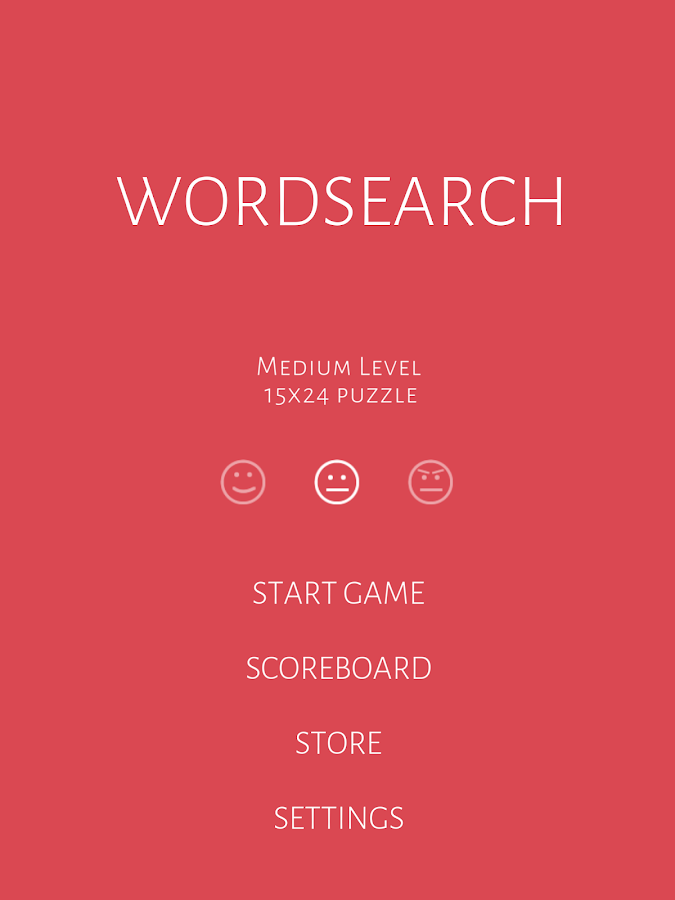 Word Search- screenshot