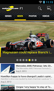 Motorsport.com - screenshot thumbnail