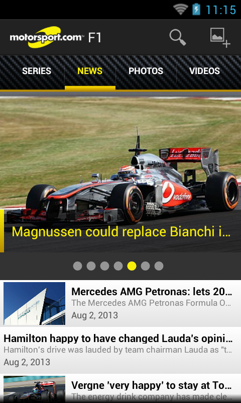 Motorsport.com - screenshot
