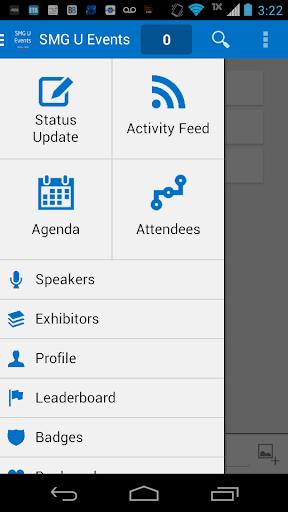 【免費生產應用App】SMG U Events-APP點子