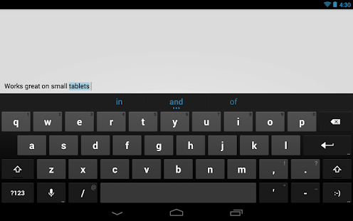Google Keyboard - screenshot thumbnail