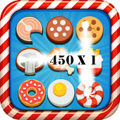 Food Match 3 Puzzle Game