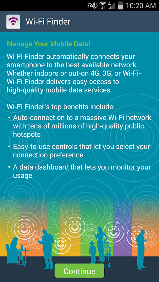 Open Mobile Wifi Finder- screenshot