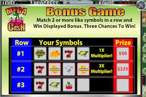 Screenshot of Mega Cash Slot Machine