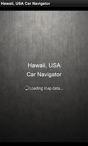 GPS導航 美國夏威夷