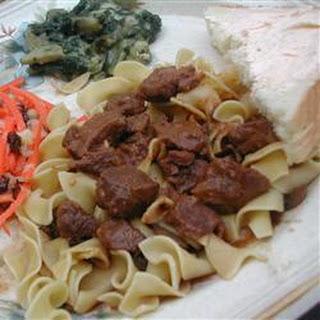 Slow Cooker Hungarian Goulash Recipe