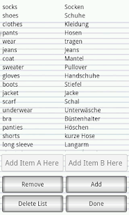 Learn German Words Fast- screenshot thumbnail