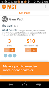 Pact: Earn Cash for Exercising Screenshot 2