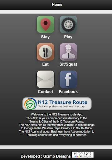 N12 Treasure Route App