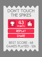 Screenshot of Don't Touch The Spikes
