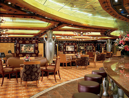 Carnival-Legend-Atlantis-Lounge - Carnival Legend's Atlantis Lounge is a quiet spot to meet friends for a drink and some laughs.