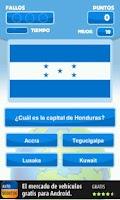 Screenshot of Paises y Capitales